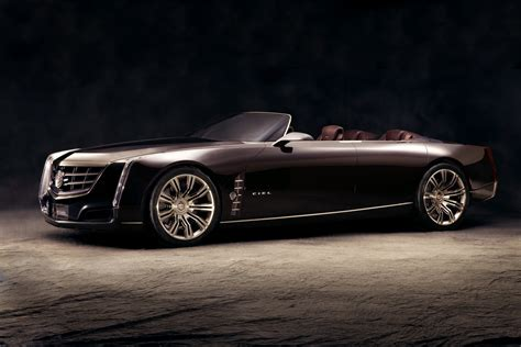 Cadillac Car by New Cadillac Ciel 4 Door Convertible Concept Wows Pebble