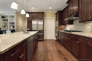 Pictures of Kitchens - Traditional - Dark Wood, Walnut