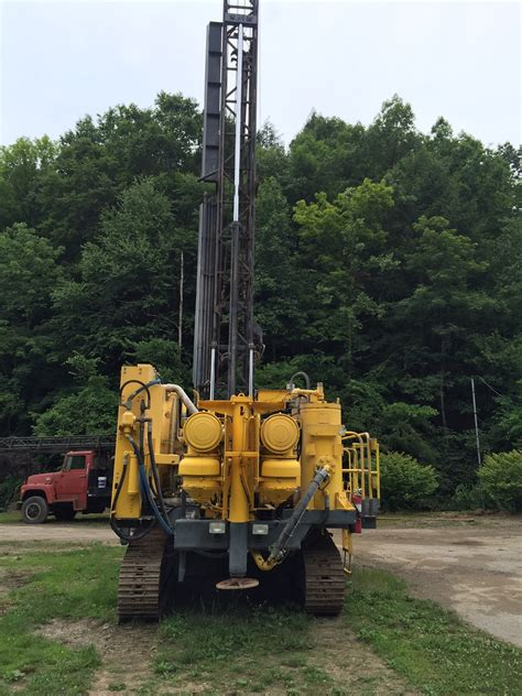 atlas copco dm high pressure drill rig venture