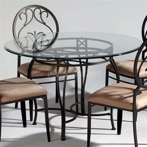 Table Sets Wrought Iron by Wrought Iron Glass Top Dining Table In 2019 A Place Of