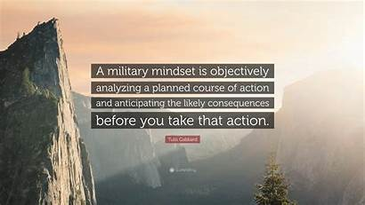 Tulsi Gabbard Quotes Military Mindset Wallpapers Quote
