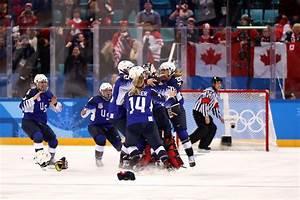USA Women's Hockey Team Defeats Canada for Gold ...