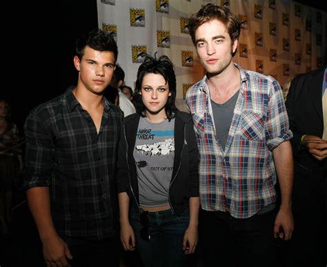 Taylor Lautner, Kristen Stewart and Robert Pattinson Comic ...