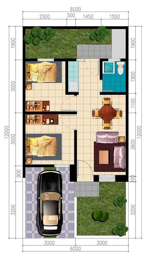 desain rumah minimalis  kamar lengkap denah rumah modern