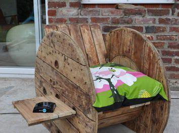 reparation canape fauteuil touret canapé palette fauteuil touret bobine de
