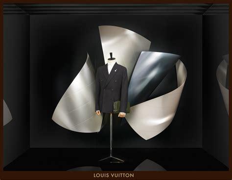 louis vuitton window displays designed  frank gehry