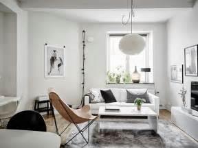 studioetta med bevarad industritouch dansk inredning och