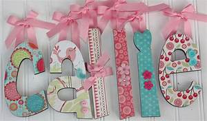 67 best alexia39s first birthday images on pinterest wood With baby name wooden letters