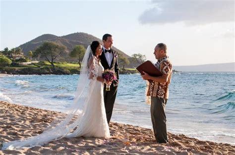 weddings  turtle town  maluaka beach maui hawaii
