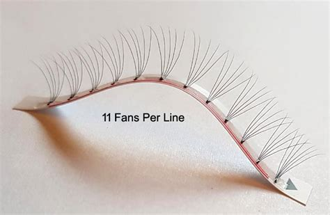 pre fanned volume lashes pre fanned knot free 2d 3d 4d 5d eyelash extensions