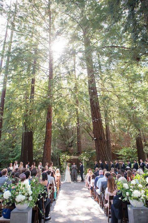 Dreamy Forest Wedding at Deer Park Villa Bay area