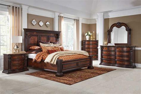 grand estate  pc king bedroom group badcock