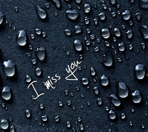 I Miss You HD Wallpaper with Quotes