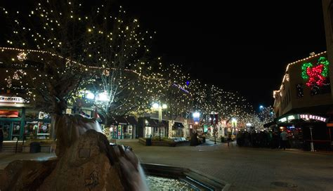 old town welcomes holiday season with lights source