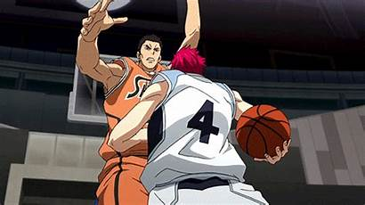 Basketball Kuroko Anime Basket Akashi Narvii Gifs