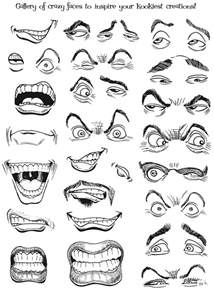 How to Draw Cartoon Faces and Expressions