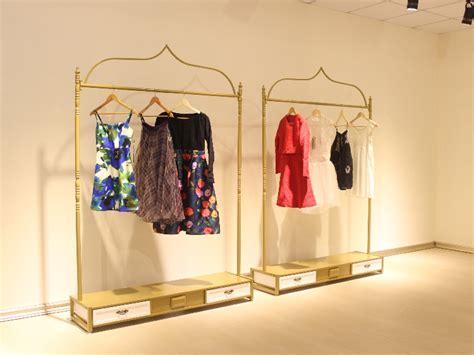 2018 Pastoral Iron Clothing Store Display Hanger Rack