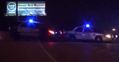 Woman dead after crash with Houston police car