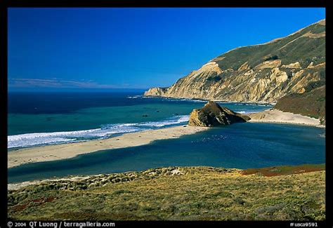 picturephoto lagoon  beach big sur california usa
