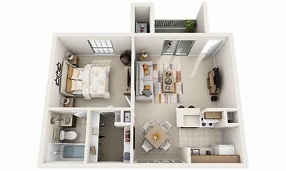 Plans Plan Floor 3d Designs Apartments 3dplans