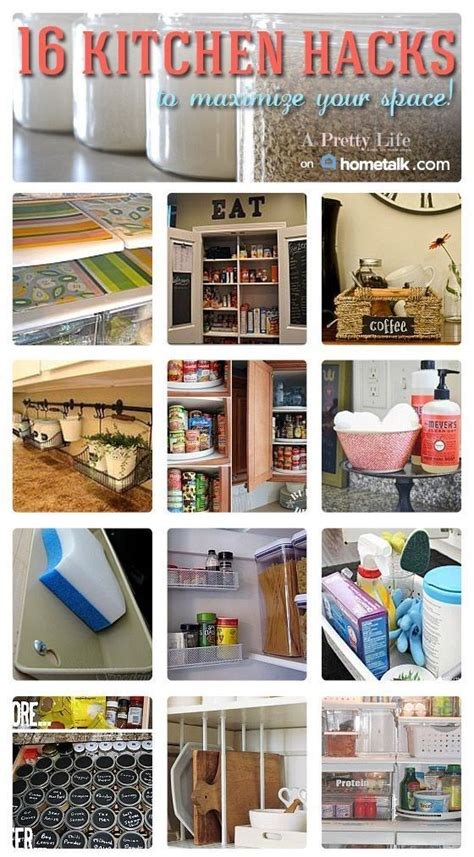 Kitchen Hacks by 16 Brilliant Kitchen Hacks To Maximize Your Space