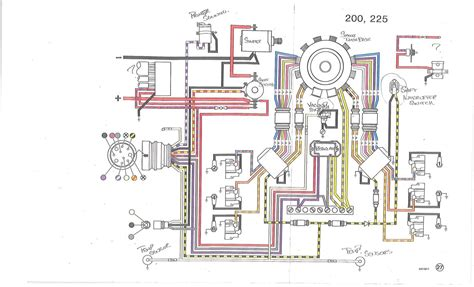 Wiring Diagram 1987 Sea by 1987 Johnson Gt150 V 6 Power Problem Page 1 Iboats
