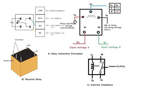 12v relay wiring diagram 5 pin wiring diagram and