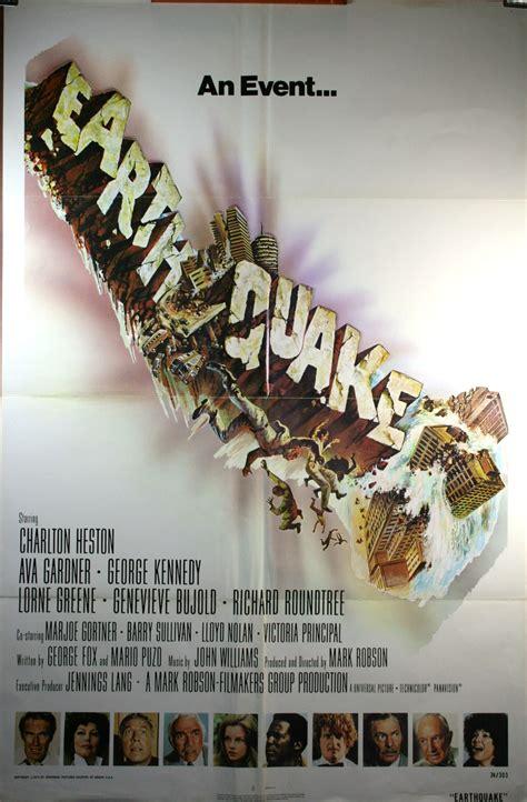 earthquake  sheet  poster