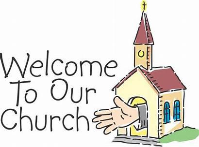 Welcome Clipart Church Clip Clipartix Visitor Cartoon