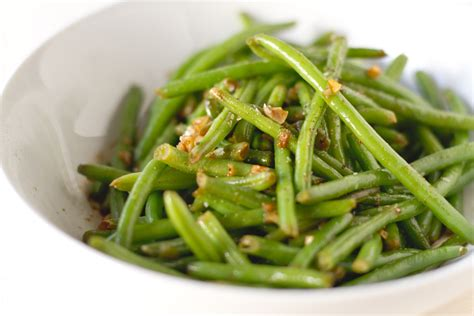 haricot vert garlic and lemon haricots verts recipe