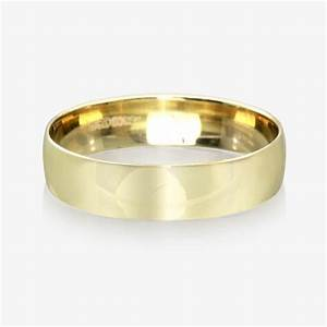 9ct gold men39s wedding ring 55mm With 9ct wedding rings