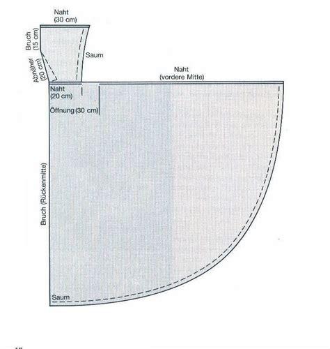 schnittmuster umhang mit kapuze bild sewing patterns schnittmuster poncho schnittmuster poncho kinder und schnittmuster