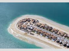 The Dubai palm islands United Arab Emirates