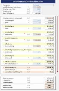 Rendite Immobilien Berechnen Formel : excel preiskalkulation im handel sofort download ~ Themetempest.com Abrechnung