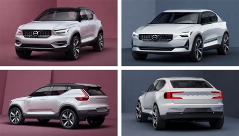 What Electric Car Has The Best Range by Volvo Previews New 40series Small Car Range Next Green Car