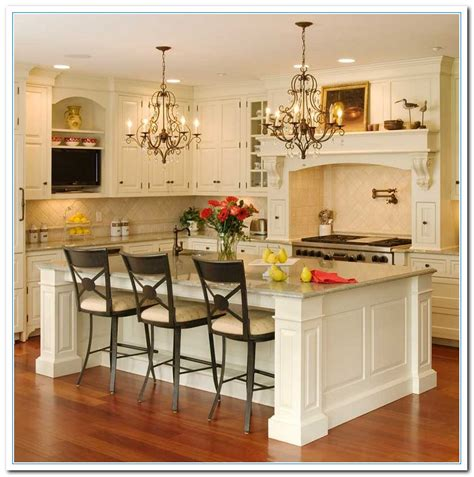 Picture Decorating Ideas For Kitchen  Home And Cabinet