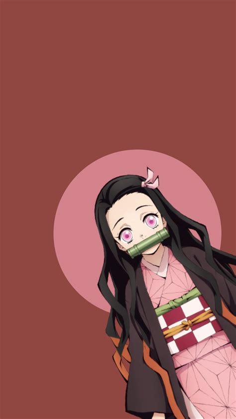 demon slayer nezuko phone wallpaper phonewallpaperquotes