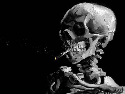 Skull Skulls Dark Evil Skeleton Horror Artwork