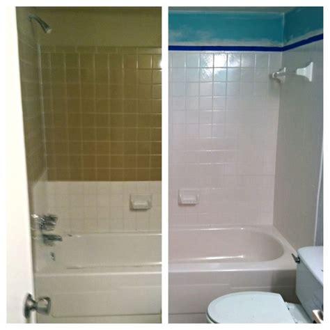 diy tub  tile reglazing   successfully