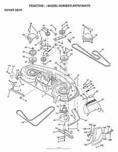 Ayp  Electrolux Ayp8188a79  1997  Parts Diagram For Mower Deck