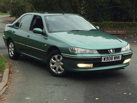 peugeot executive car peugeot 406 executive low miles auto leathers mint