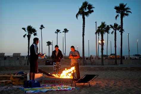 assembly oks bill   calif beach bonfires  kpcc