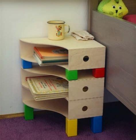 diy rangement bureau 15 tables de nuit diy faciles à fabriquer diy bedside