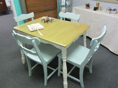 shabby chic kitchen table with chairs