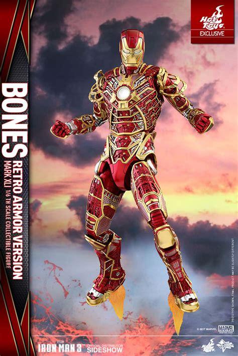 iron man table l marvel iron man mark xli bones retro armor version sixth