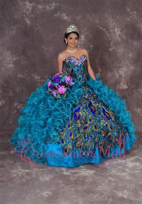 peacock quinceanera dress qm quinceanera mall