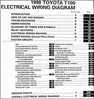 2001 Toyota Ta Pickup Wiring Diagram Manual Original 24307 Getacd Es