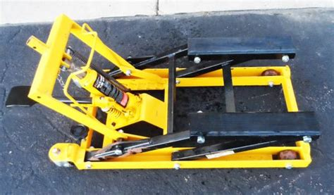 Motorcycle Hydraulic 1500 Lb Lift Jack For Sale In