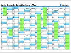 Ferien in RheinlandPfalz RLP 2018, 2019 + Ferienkalender
