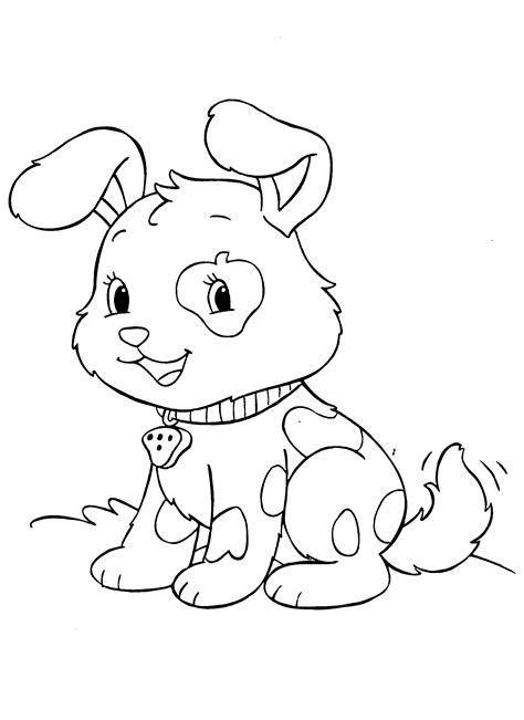 Baby Puppy And Kitten Coloring Pages Coloring Home